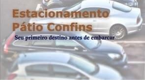 descrição estacionamento Pátio Confins